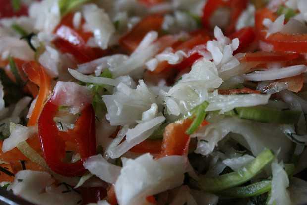Лучшие пошаговые рецепты квашеной капусты с болгарским перцем