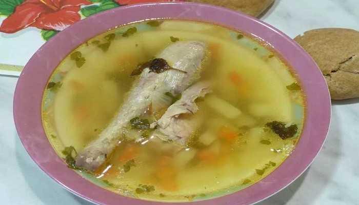 Грибной суп с курицей - объедение, пальчики оближешь: рецепт с фото и видео
