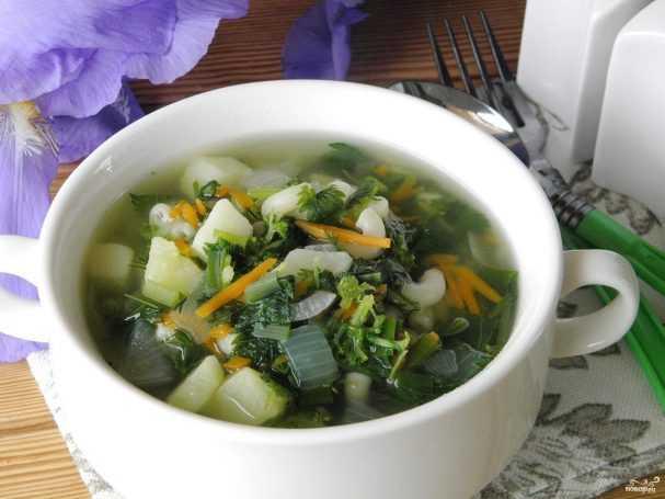 Суп из крапивы с яйцом — 5 пошаговых рецептов