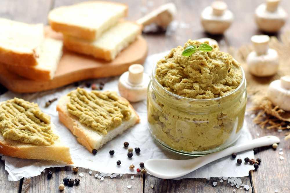 Вкусный паштет из грибов: рецепты и особенности приготовления