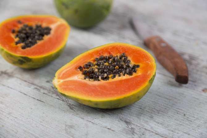 Папайя (сушеная, семена): полезные свойства и противопоказания