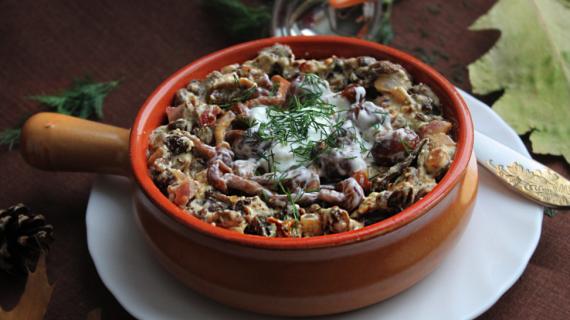Грибной соус из шампиньонов: вкусная изюминка для любого блюда