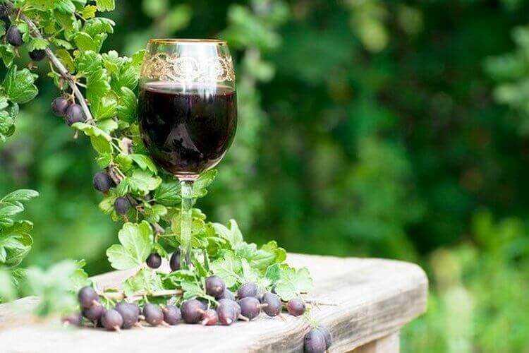 Вино из крыжовника и малины в домашних условиях - рецепт по шагам