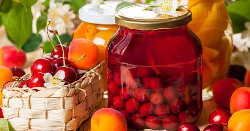 Компот из яблок и ежевики на зиму: рецепт с фото пошагово