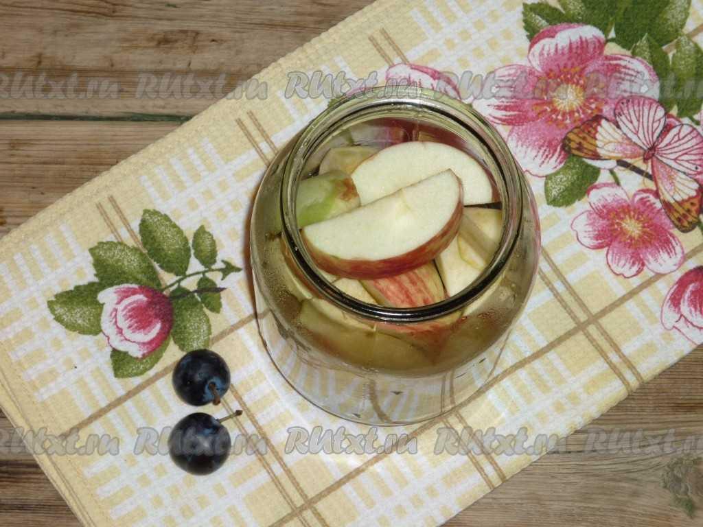 Компот из яблок рецепты консервации на зиму с фото и описанием