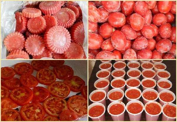 Все о замораживании свежих помидоров на зиму: подготовительные работы способы рецепты полезные советы и хитрости
