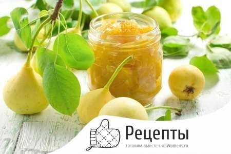 Варенье из груш на зиму: дольками янтарное и целиком прозрачное — простой рецепт пятиминутка с картинками густого грушевого варенья с лимоном