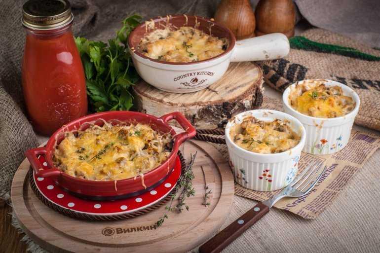 Рецепт жульен с грибами. калорийность, химический состав и пищевая ценность. как приготовить жульен с курицей и грибами на сковороде жульен с грибами калорийность на 100 грамм