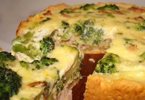 Пирог из слоеного теста с грибами и курицей - 9 пошаговых фото в рецепте