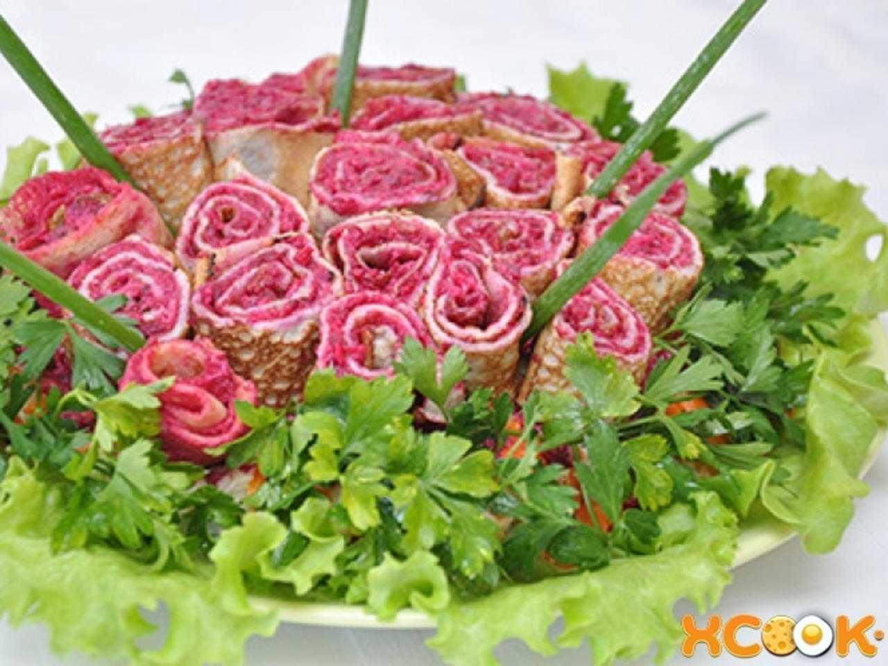 Готовим салат Букетик: поиск по ингредиентам, советы, отзывы, пошаговые фото, подсчет калорий, удобная печать, изменение порций, похожие рецепты