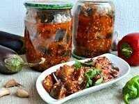 Баклажаны в аджике - вкусные рецепты пикантной закуски
