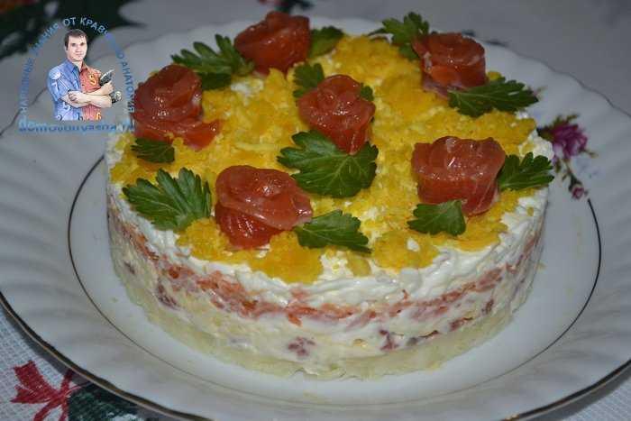 Салат «царская шуба» — пошаговый рецепт с фото