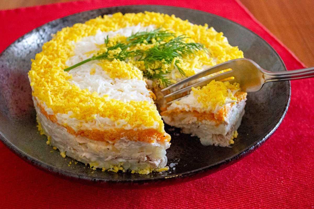 Салат мимоза с семгой слабосоленой и сыром. рецепт с 11 фото | народные знания от кравченко анатолия