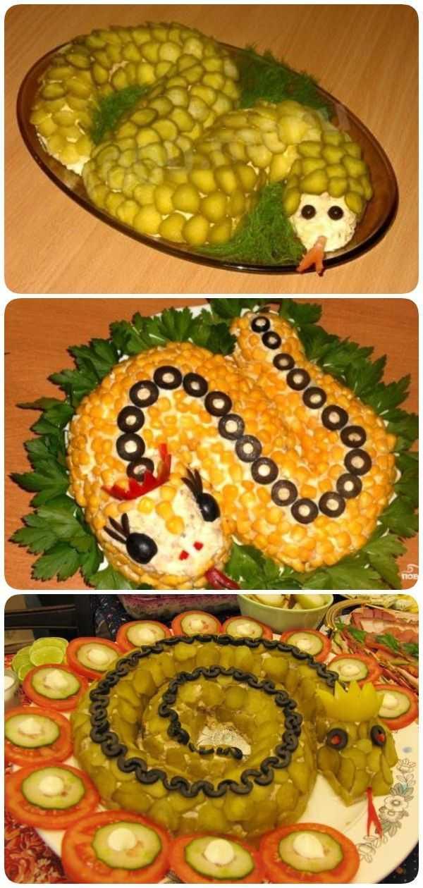 Салат змейка: 27 пошаговых рецептов с фото | foodini