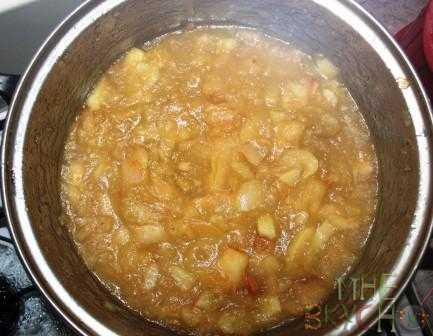Варенье из черноплодной рябины - с яблоками, апельсинами. вишневыми листьями