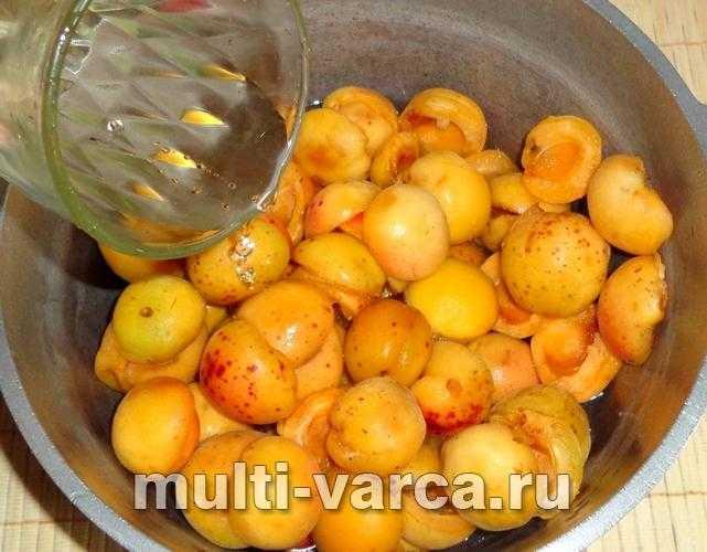 Сок из абрикосов с мякотью на зиму