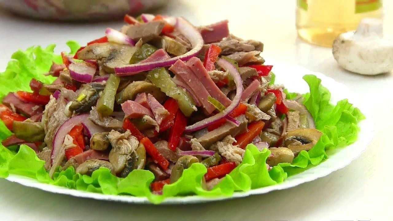 Салат цада с фасолью и говядиной и сметаной с огурцами рецепт с фото пошагово - 1000.menu