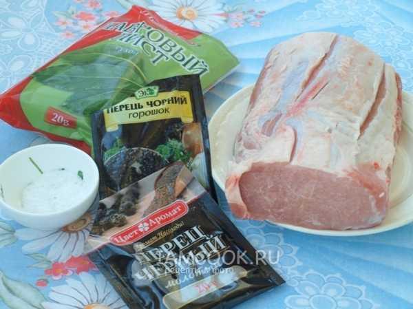 Домашняя буженина из свинины пошаговый рецепт