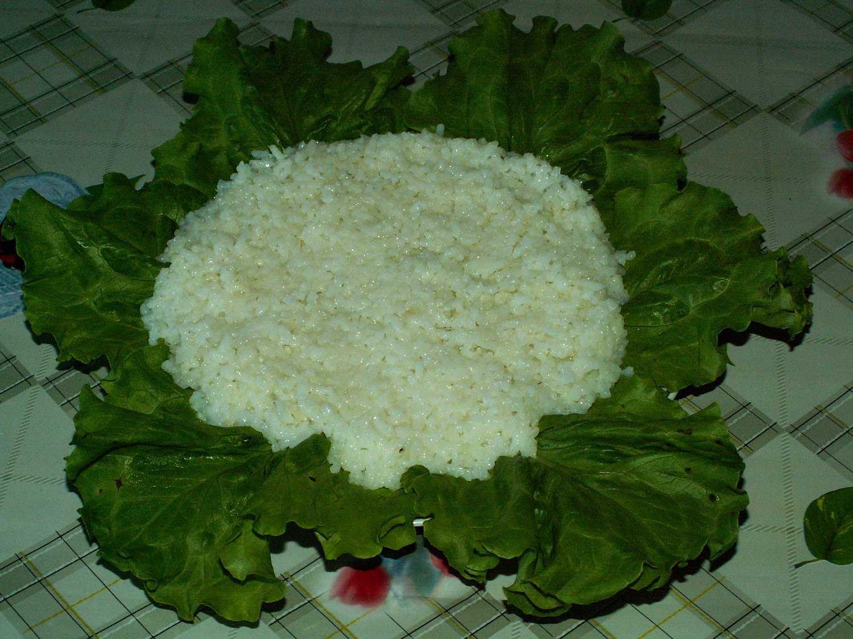 Салат из сайры с яйцом