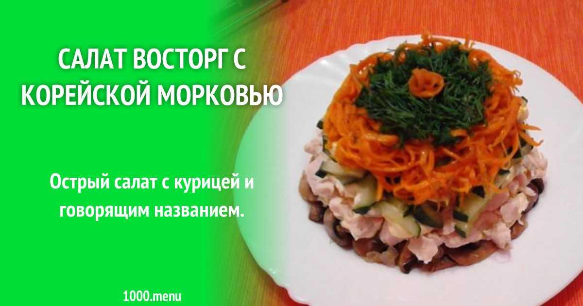 Салат с жареными грибами и курицей с луком рецепт с фото пошагово и видео - 1000.menu