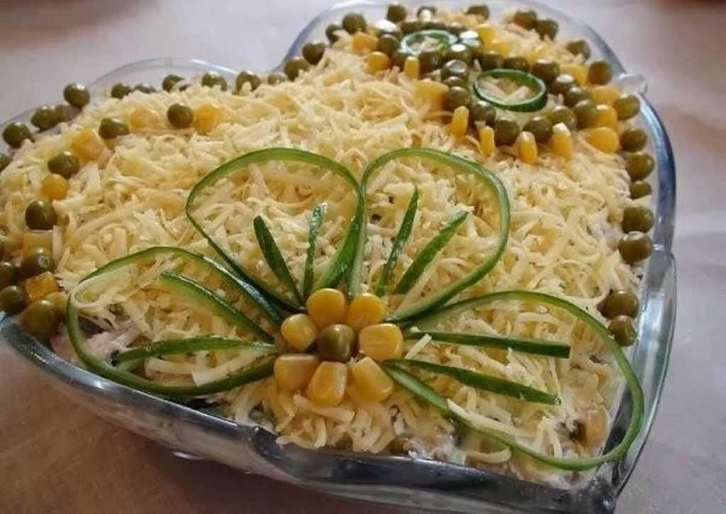 Салат с жареными шампиньонами(более 10 рецептов) • шампиньоны
