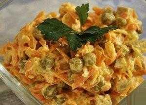 Салат «сугробы»: рецепт
