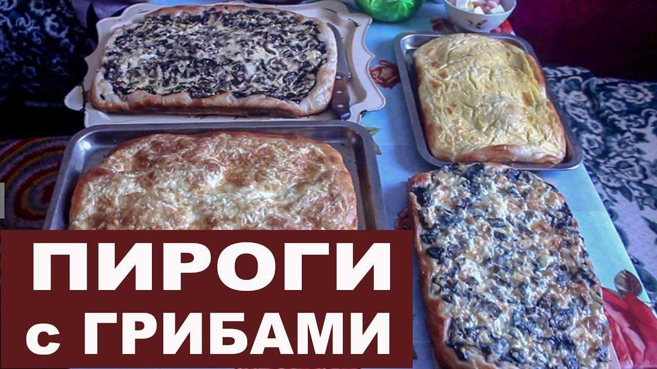 Пироги с солеными грибами: начинка для пирожков, рецепт с рыжиками, картошкой, маринованными, тесто, видео, фото