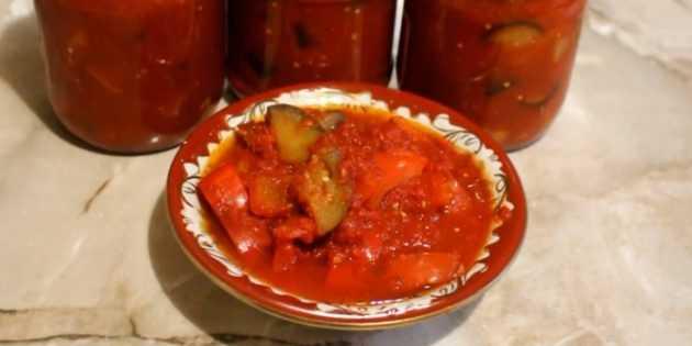 Лечо из болгарского перца на зиму: лучшие рецепты