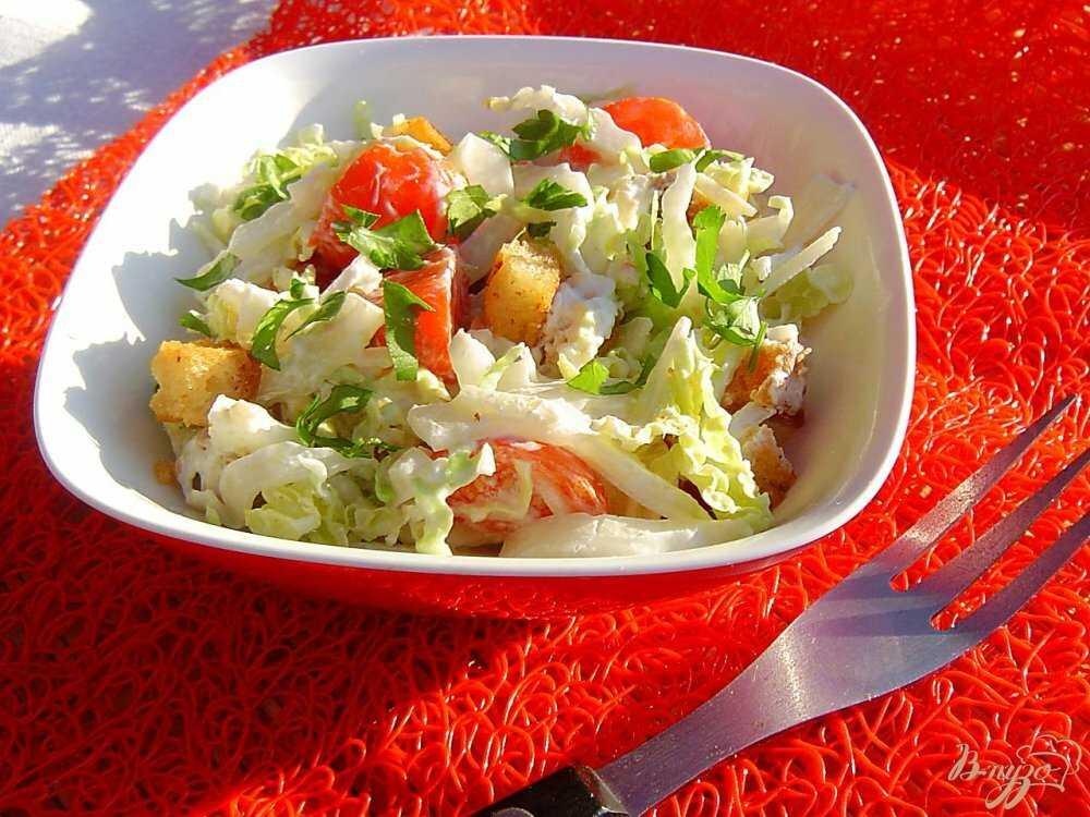 Салат из пекинской капусты с курицей: рецепты