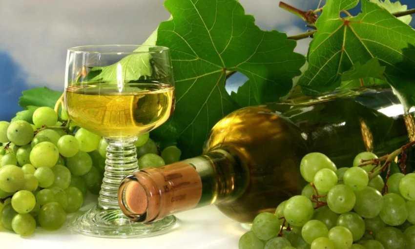Простые пошаговые рецепты домашнего вина из белого винограда