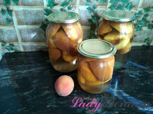 5 рецептов заготовок компота на зиму из персиков