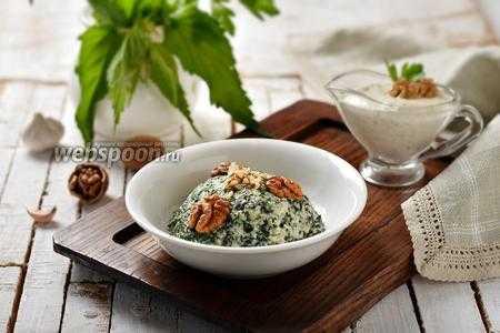 Крапива: супы и салаты для похудения