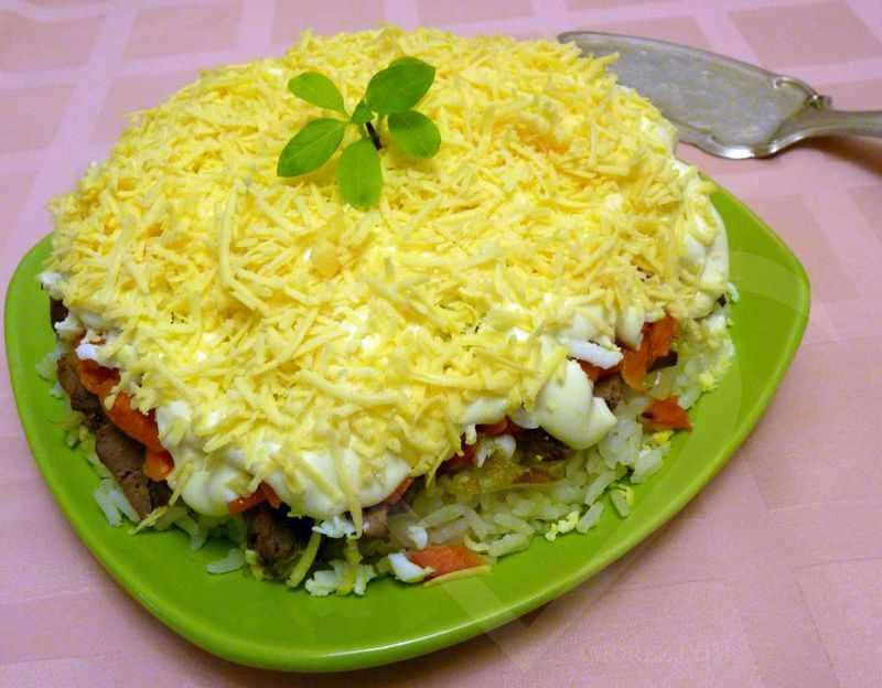 Салат из куриной печени — 9 очень вкусных рецептов