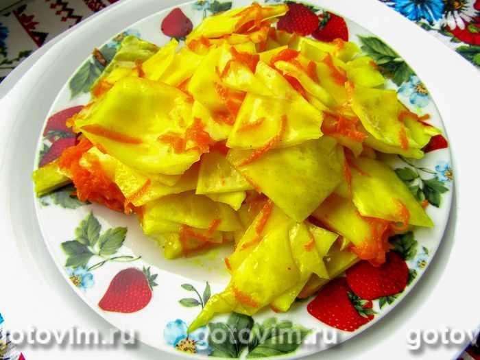 Маринованная капуста по корейски - пикантная азиатская закуска из доступных ингредиентов: рецепты с фото и видео