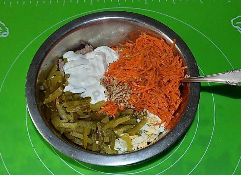 Кояш салат рецепт с фото