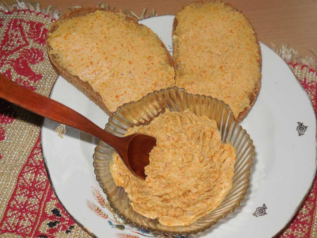 Паштет из селёдки с плавленым сыром. пошаговый рецепт с фото — ботаничка.ru