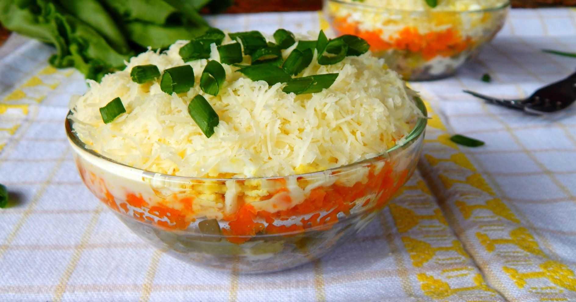 Салат с куриной печенью и солеными огурцами - 2 вкусных рецепта