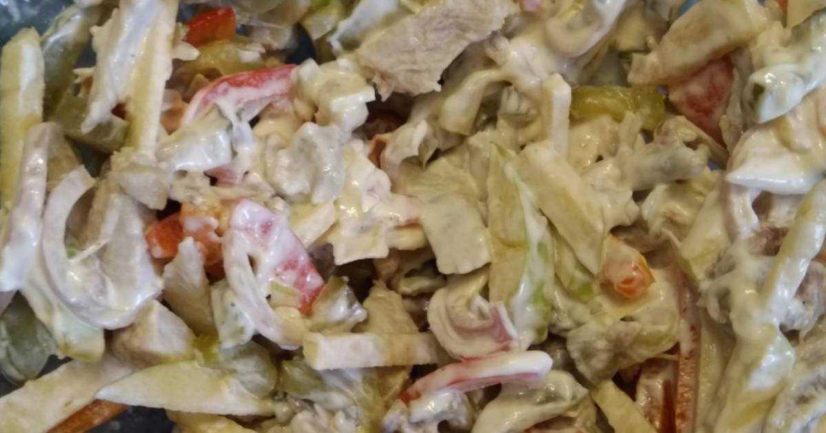 """Салат """"прага""""- классический рецепт необыкновенно вкусного салата"""