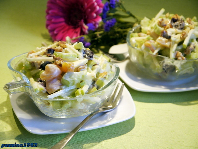 """Салат """"вальдорф"""": как приготовить? рецепт известного салата """"вальдорф"""""""