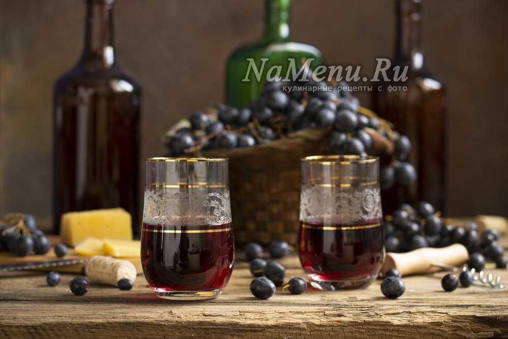 Вино в домашних условиях из винограда Изабелла: рецептприготовления.