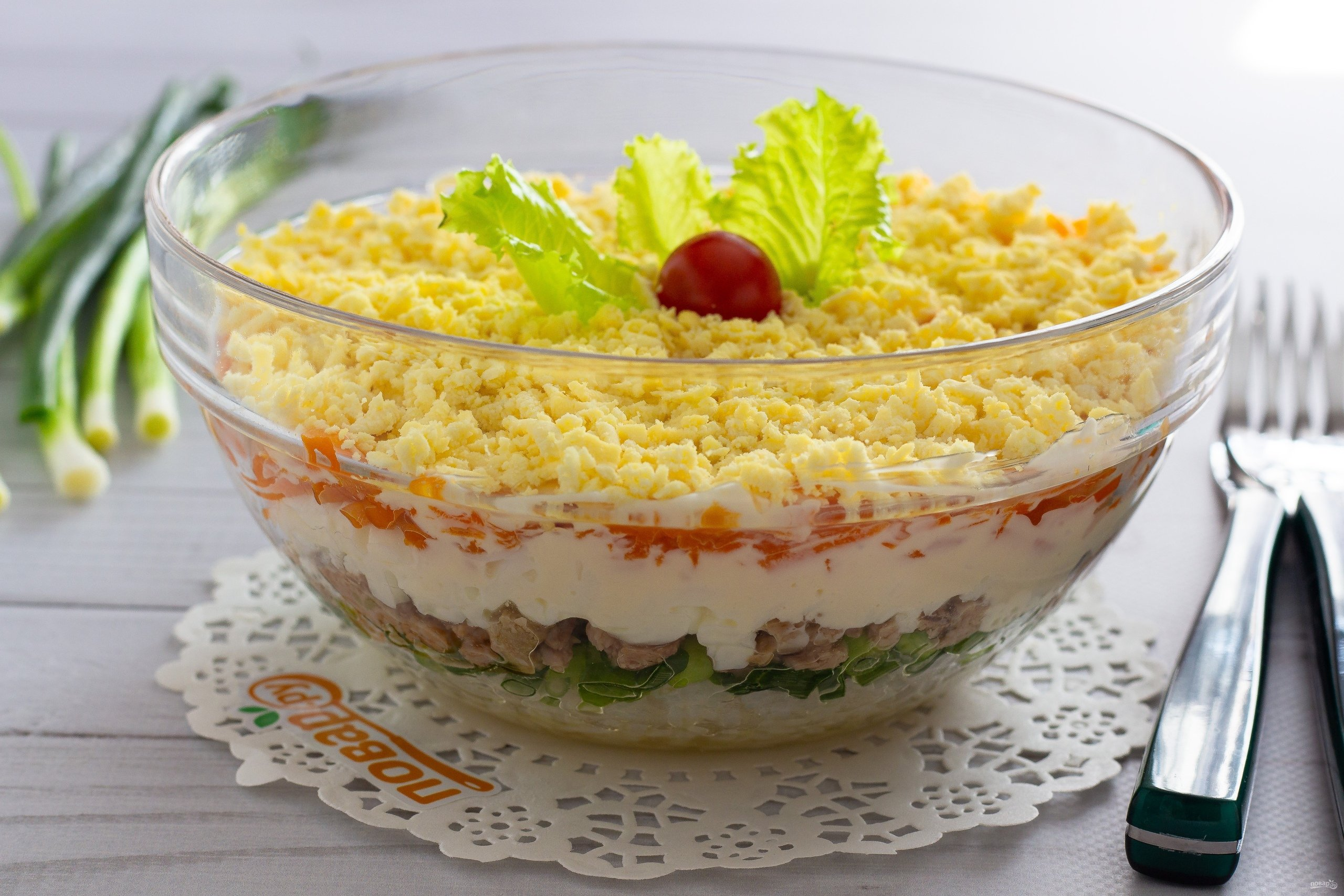 Дешевые салаты