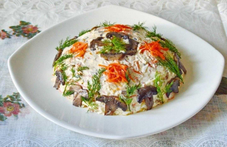 Салат с сердечками и морковью рецепт с фото - 1000.menu