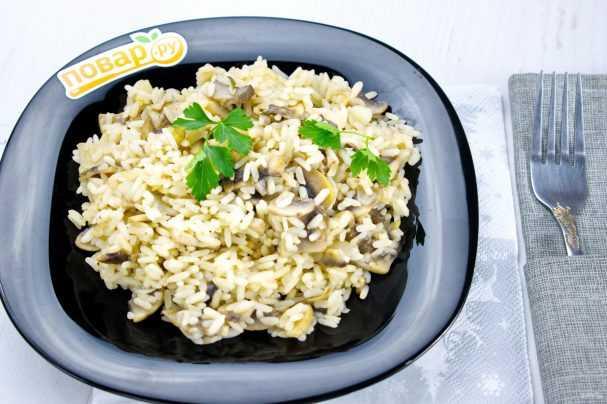 Ризотто с курицей и грибами - рецепт с фото пошагово   cookjournal.ru