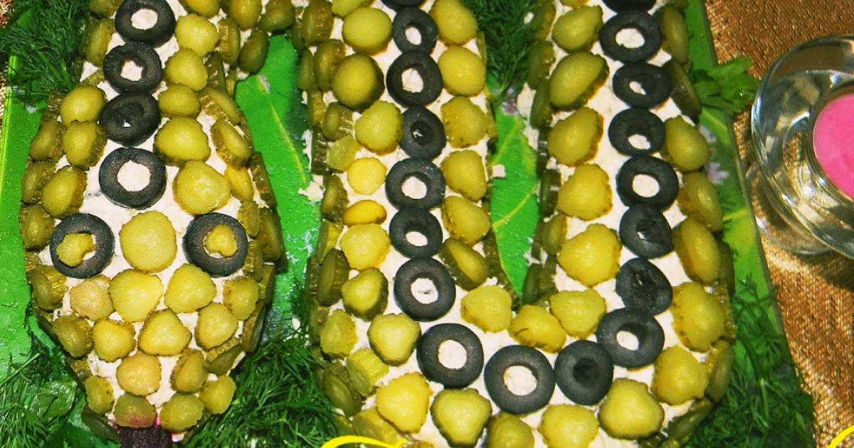 Салат змея: 23 пошаговых рецепта с фото | foodini