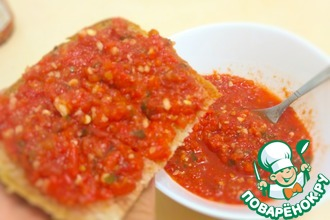 Аджика из перца и чеснока с помидорами и не только на зиму 66 рецептов - 1000.menu