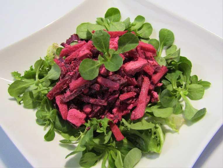 Салат из капусты и свеклы на зиму
