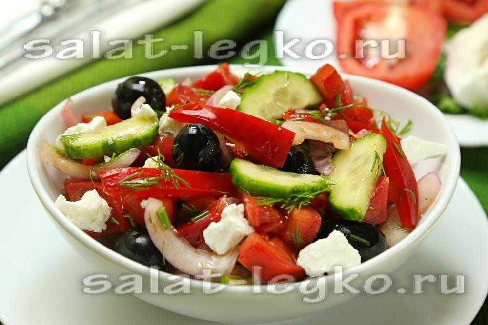 Салат с брынзой и вялеными помидорами под шпинатным соусом рецепт с фото пошагово и видео - 1000.menu