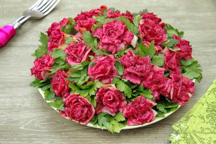 Салат букет невесты рецепт с фото пошагово - 1000.menu