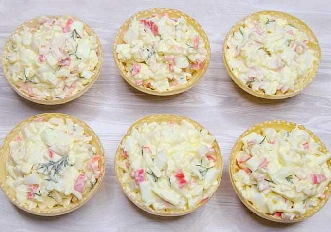 Тарталетки с икрой – украшение любого праздничного стола: рецепты с фото и видео