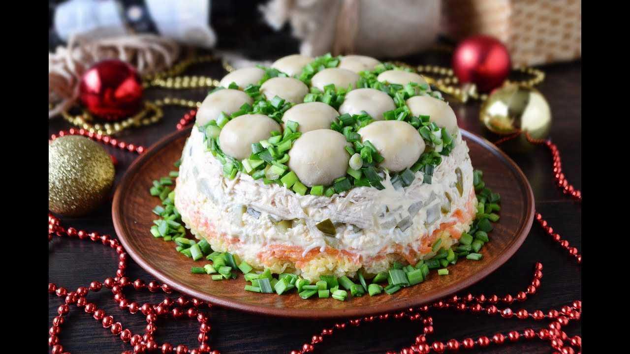 Топ-4 рецепта оригинальных салатов «лесная поляна», тонкости приготовления